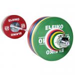 Eleiko Olympic WL Skivstångsset