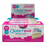 Quest Bars, 12st hel låda