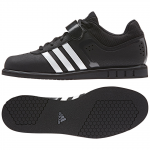 5. Adidas Powerlift 2, Black/White Night Metallic