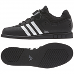 5. Adidas Powerlift 2, Black/White Night Metallic