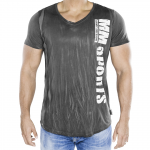 MM V-Tee Random Men, Army Grey