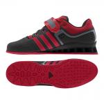 21. Adidas adiPower Weightlifting, Svart/Röd
