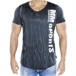MM V-Tee Random Men, Army Blue