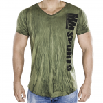 MM V-Tee Random Men, Army Green
