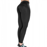 48. MM Sports Tights, Black/Black