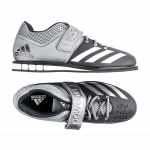 35. Adidas Powerlift 3, Black/Silver/White