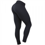 Comp Tights Jane, Wmn, Plain Black