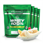 4 x 1 kg Body Science Whey 100% för 496 kr