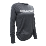 MM Sports L/S Tee Tyra, Dark Greymelange