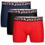 Frank Dandy 3 Pack St Paul Bamboo Boxer