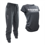 Lounge Wear Set, Dark Greymelange