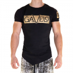Gavelo Sports Tee Gold Print