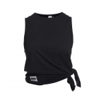 Side Knot Tank Abby, Black