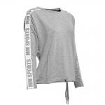 MM Sports Logo Sweater Ava, Greymelange/Grey