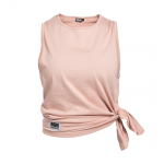 Side Knot Tank Abby, Dusty Pink