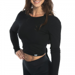 MM Sports Knot Back L/S Top Abby