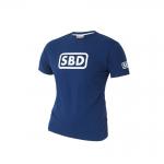 SBD T-Shirt Ladies, Blue/White