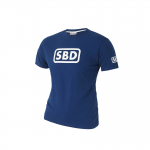SBD T-Shirt Men's, Blue/White