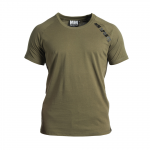 Basic Raglan Tee Christian, Army Green