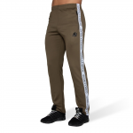 Gorilla Wear Wellington Track Pants, Olive Green