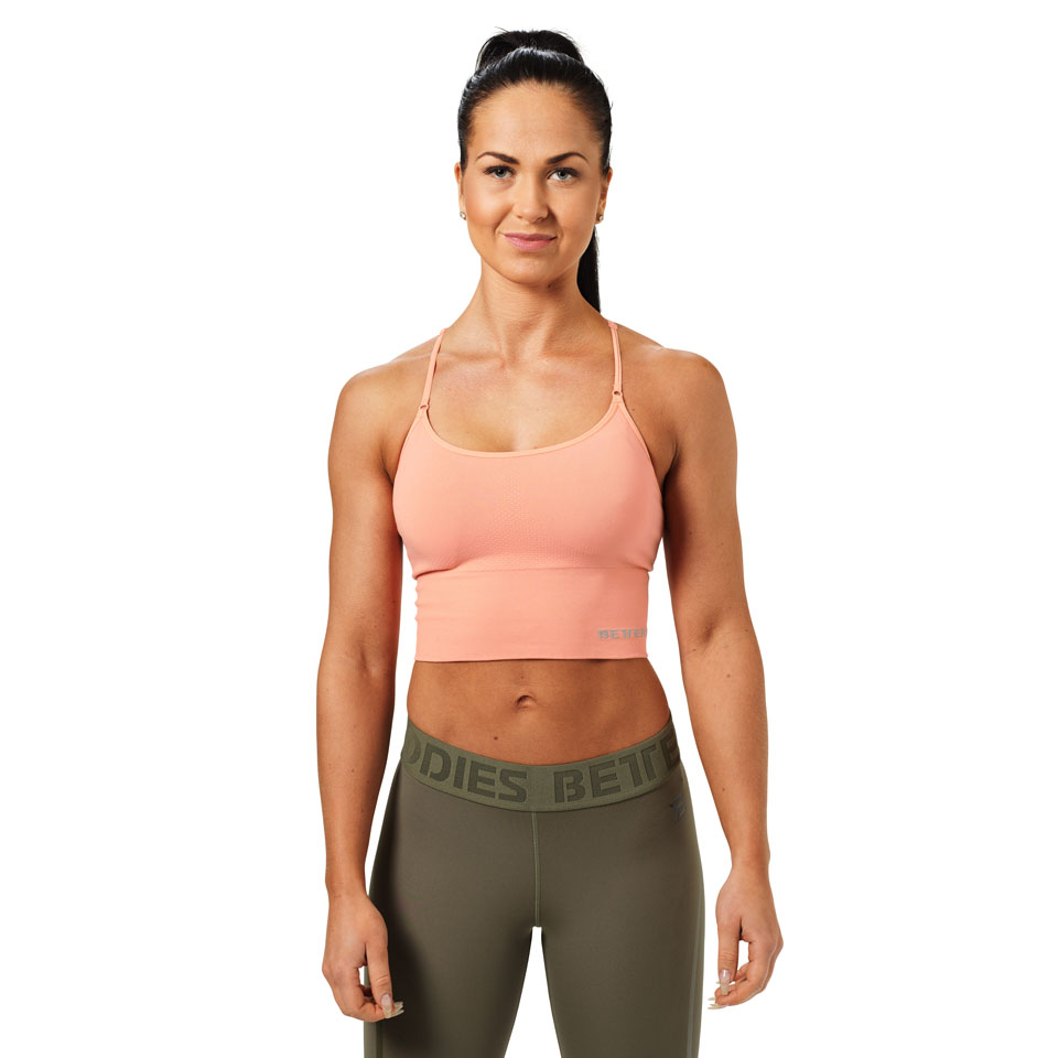 Better Bodies Astoria Seamless Bra Peach linne