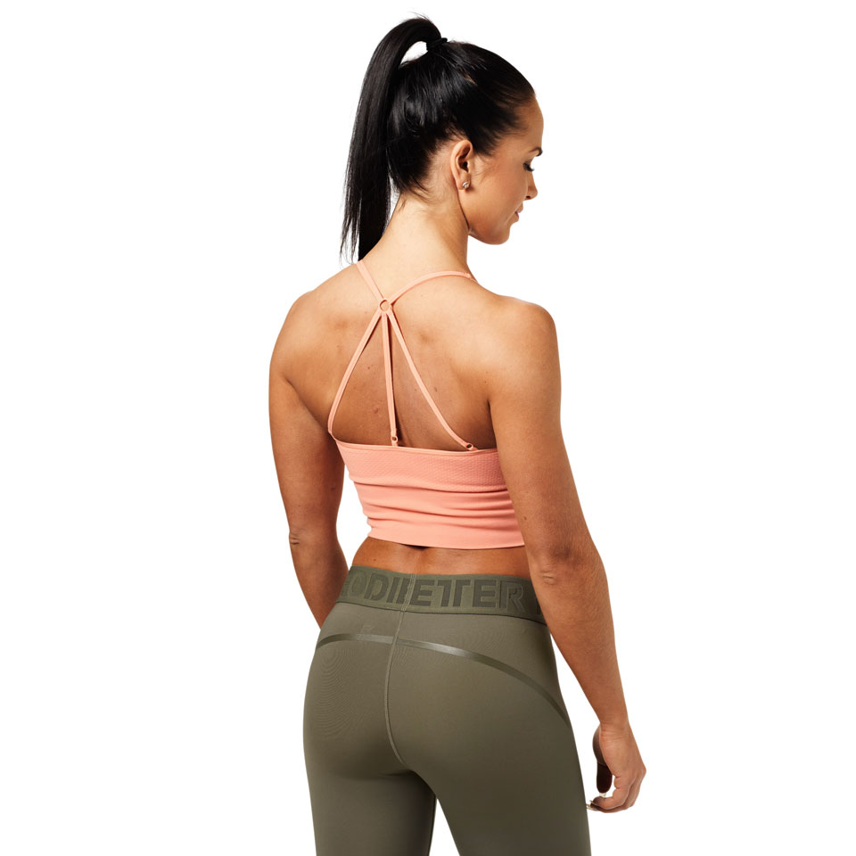 Better Bodies Astoria Seamless Bra Peach linne bak