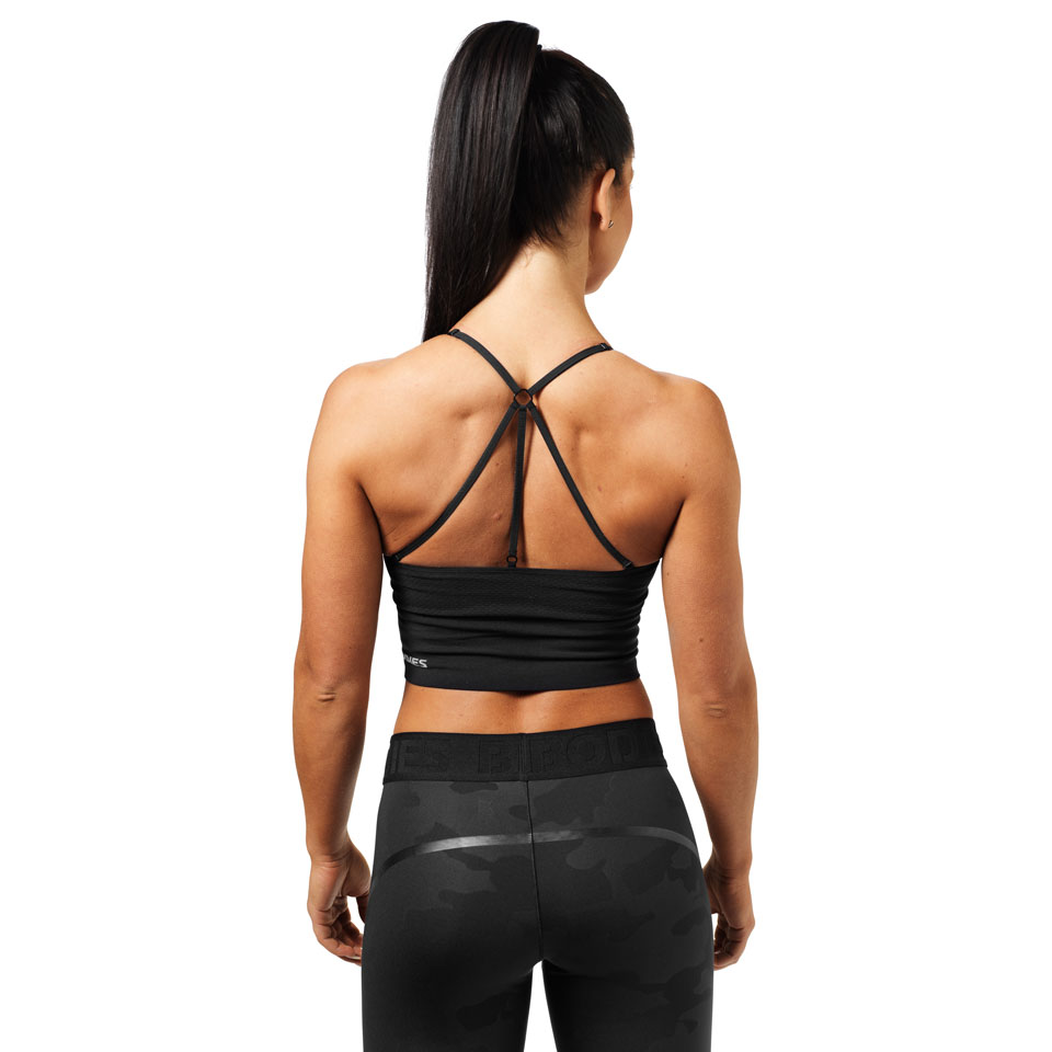 Better Bodies Astoria Seamless Bra Black linne bak