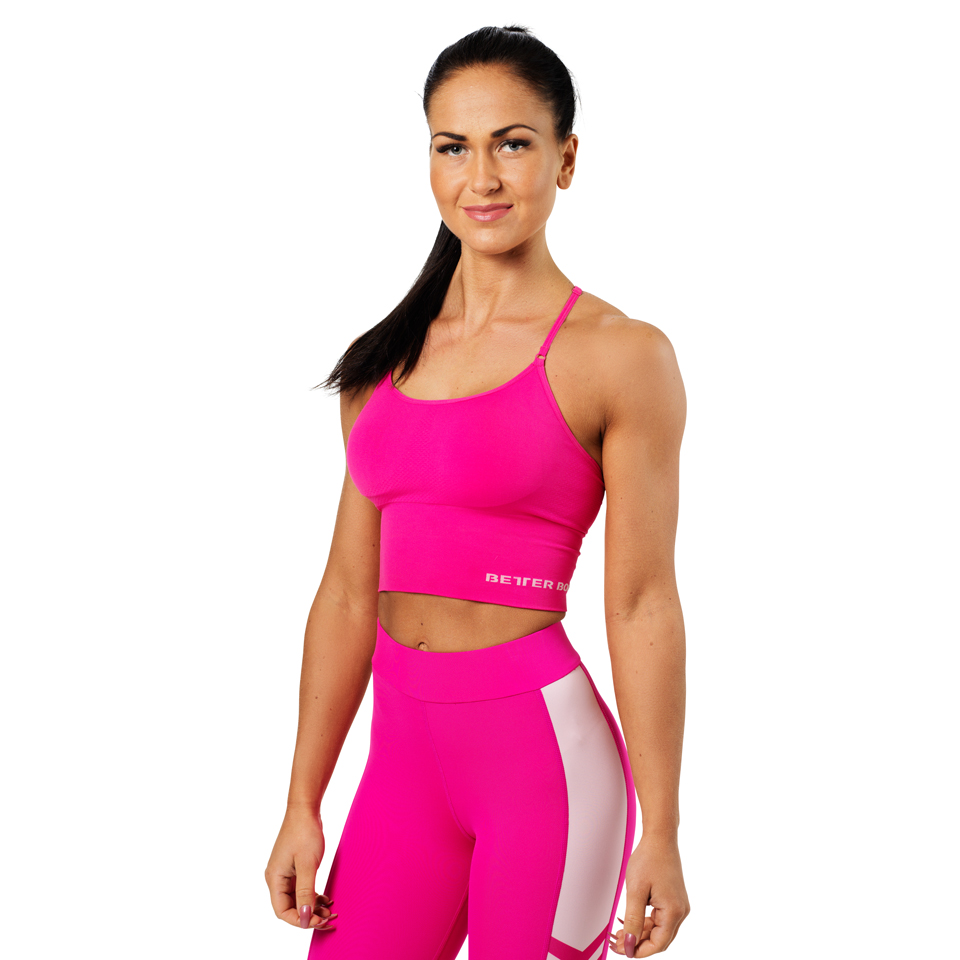 Better Bodies Astoria Seamless Bra Hot Pink linne