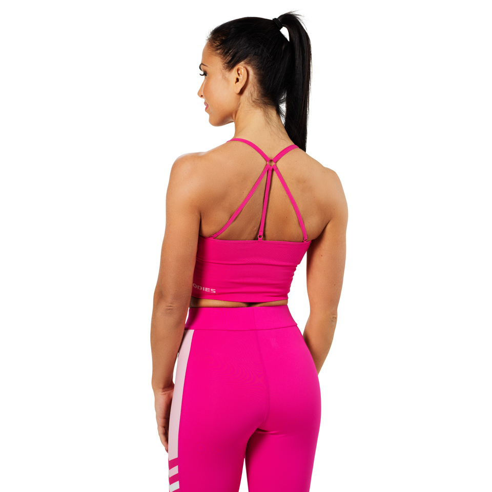 Better Bodies Astoria Seamless Bra Hot Pink linne bak