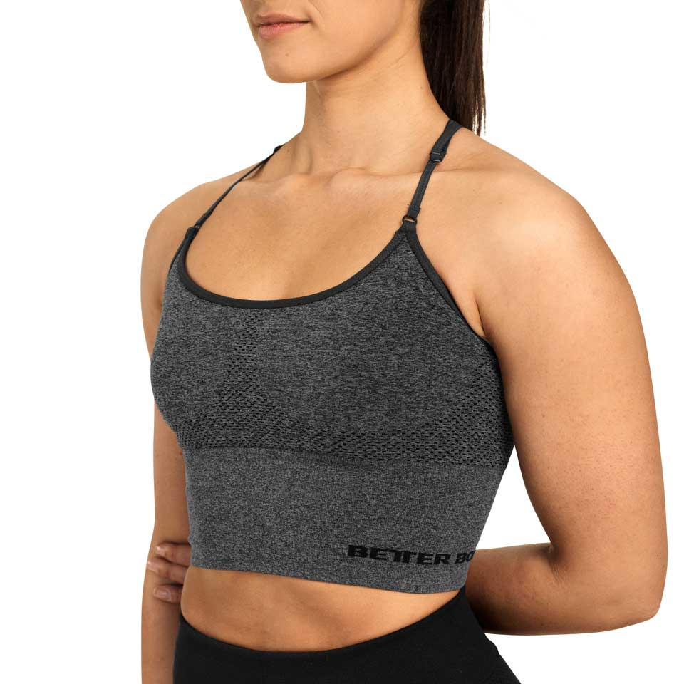 Better Bodies Astoria Seamless Bra Graph Melange linne