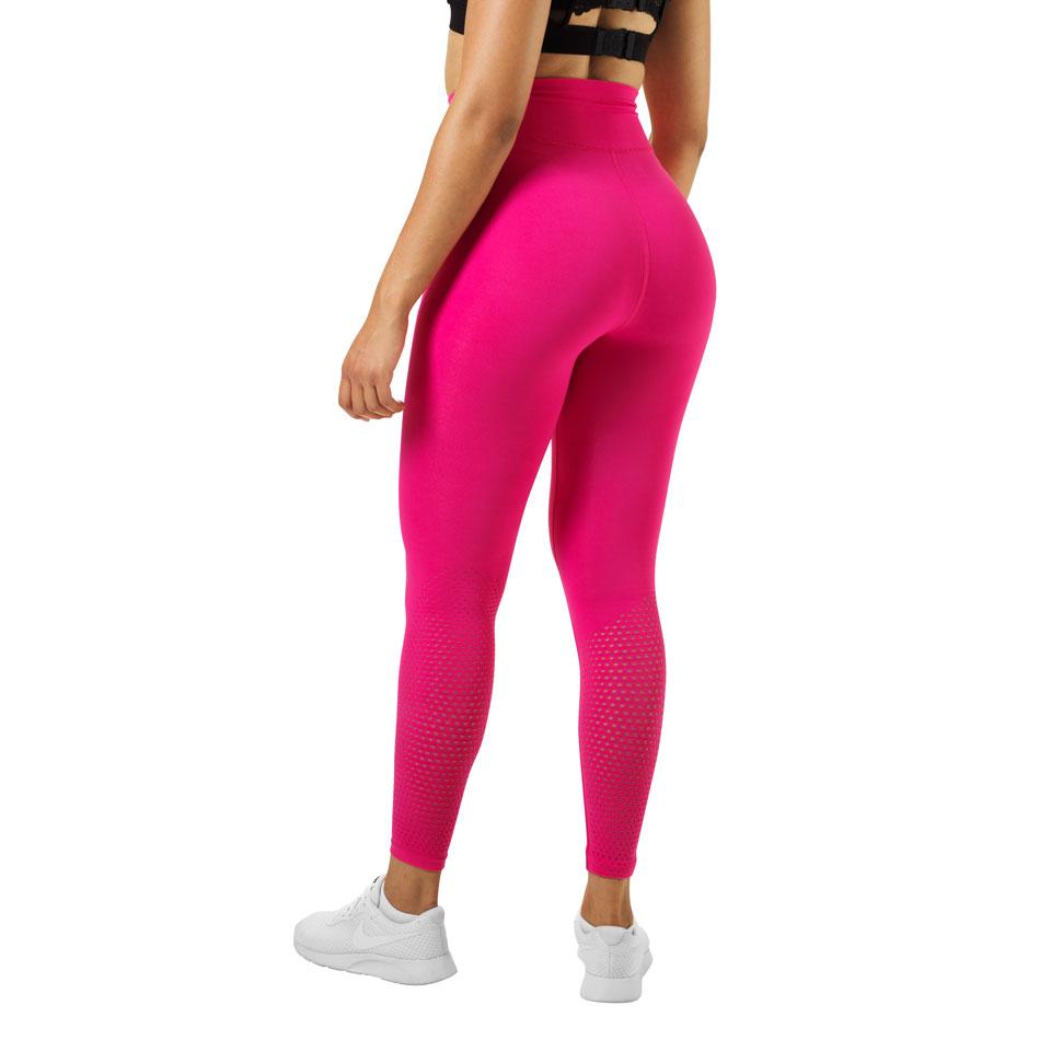 Better Bodies Bowery High Tights Hot Pink baksida