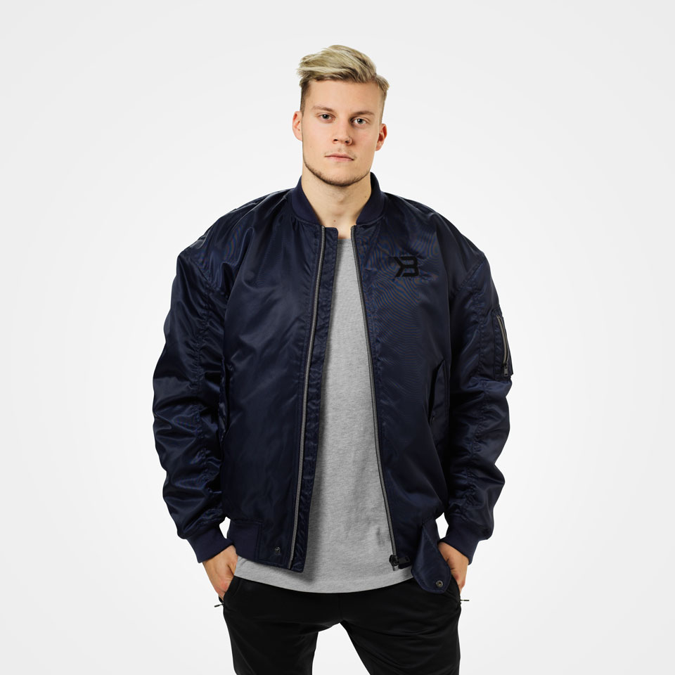 Better Bodies Astor Bomber Jacket Dark Navy XS - Better Bodies