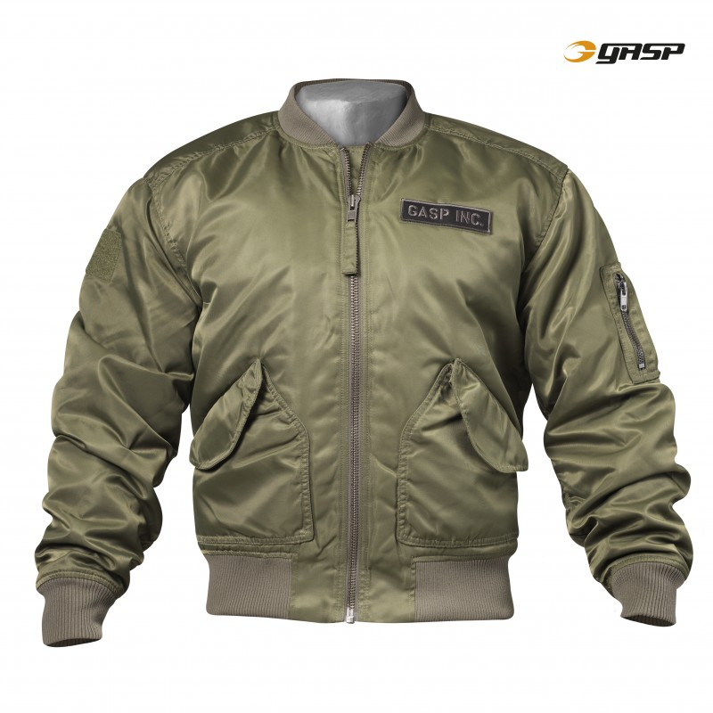 Gasp Utility Jacket Wash Green L - Gasp