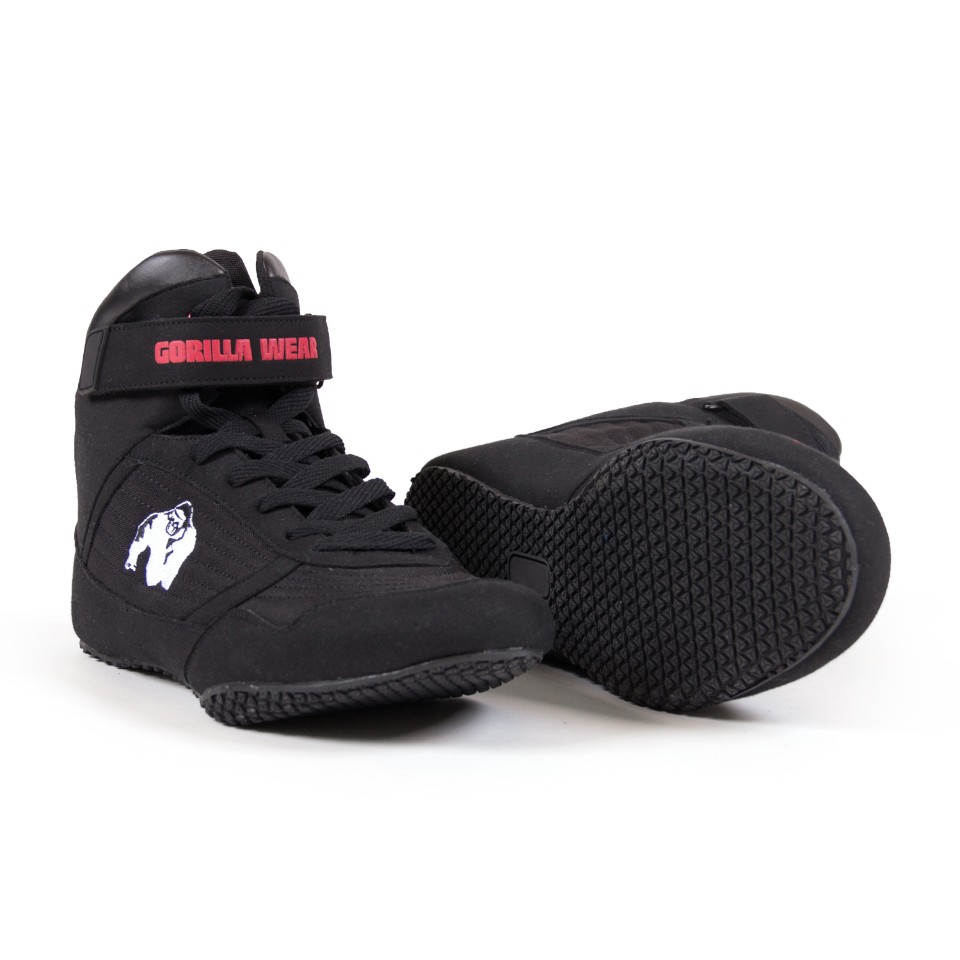 Gorilla Wear High Tops Svart 47 - Gorilla Wear