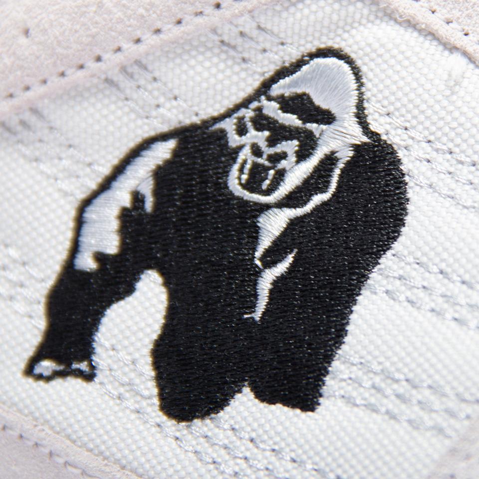 Märket av Gorilla Wear Perry High Tops Pro vit lyftarsko