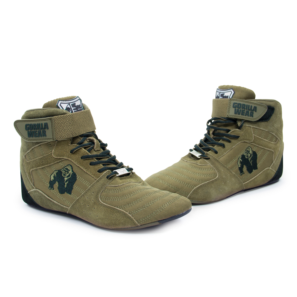 Gorilla Wear Perry High Tops Pro Army Green lyftarskor
