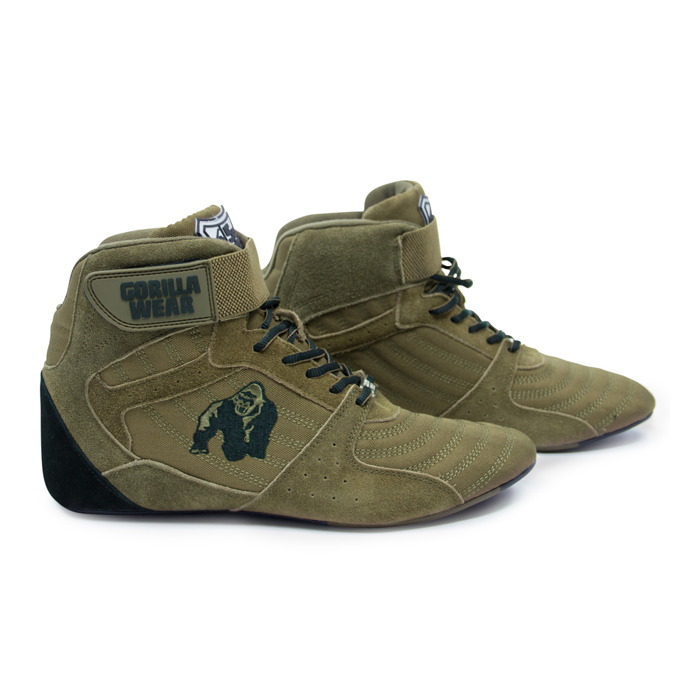 Gorilla Wear Perry High Tops Pro lyftarskor Army Green