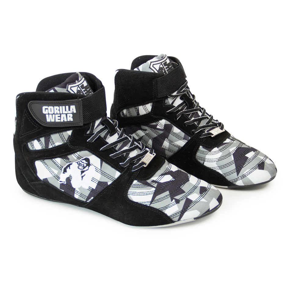 Gorilla Wear Perry High Tops Pro Black/Grey Camo lyftarskor