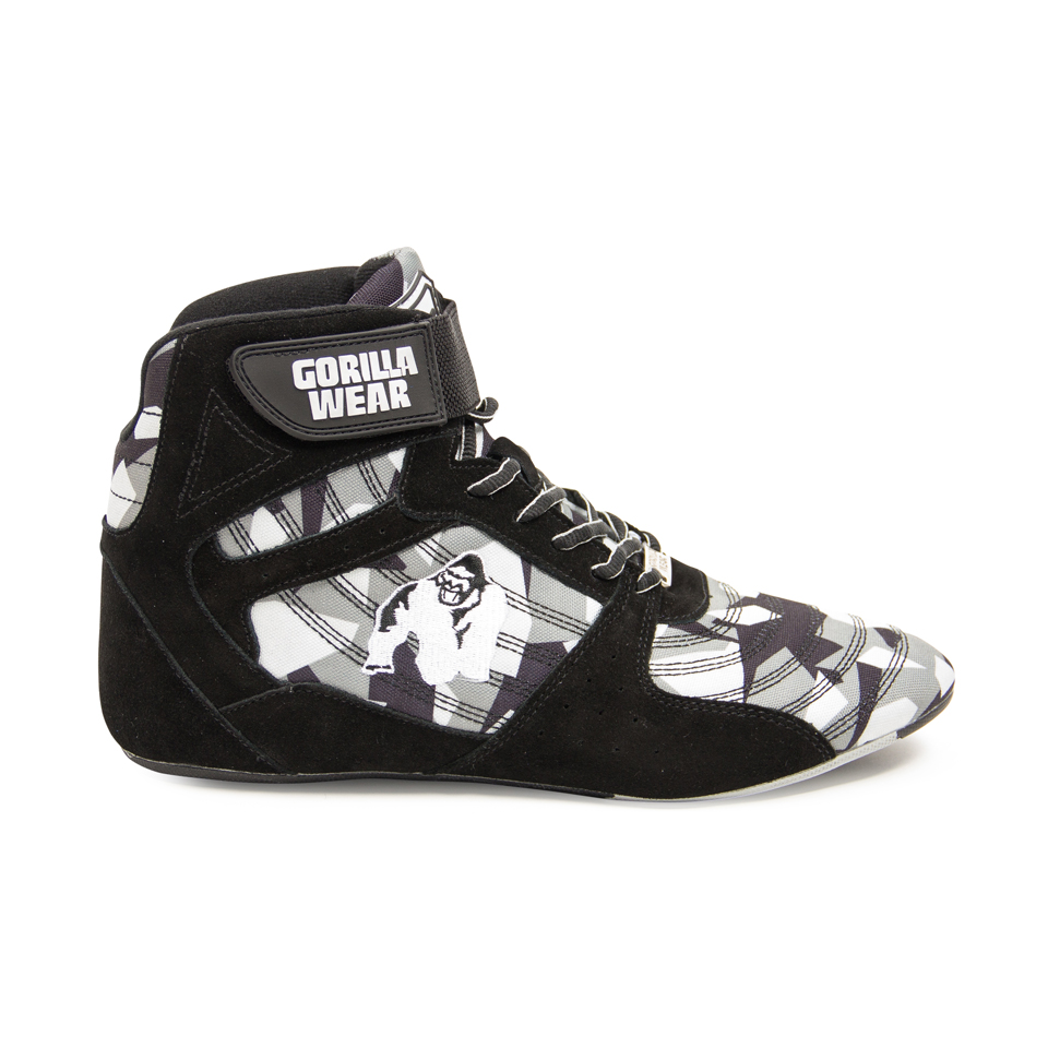 Gorilla Wear Perry High Tops Pro Black/Grey Camo lyftarsko