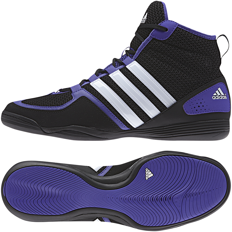 Adidas Boxfit 3 Black/White/Night Flash 36 - Adidas