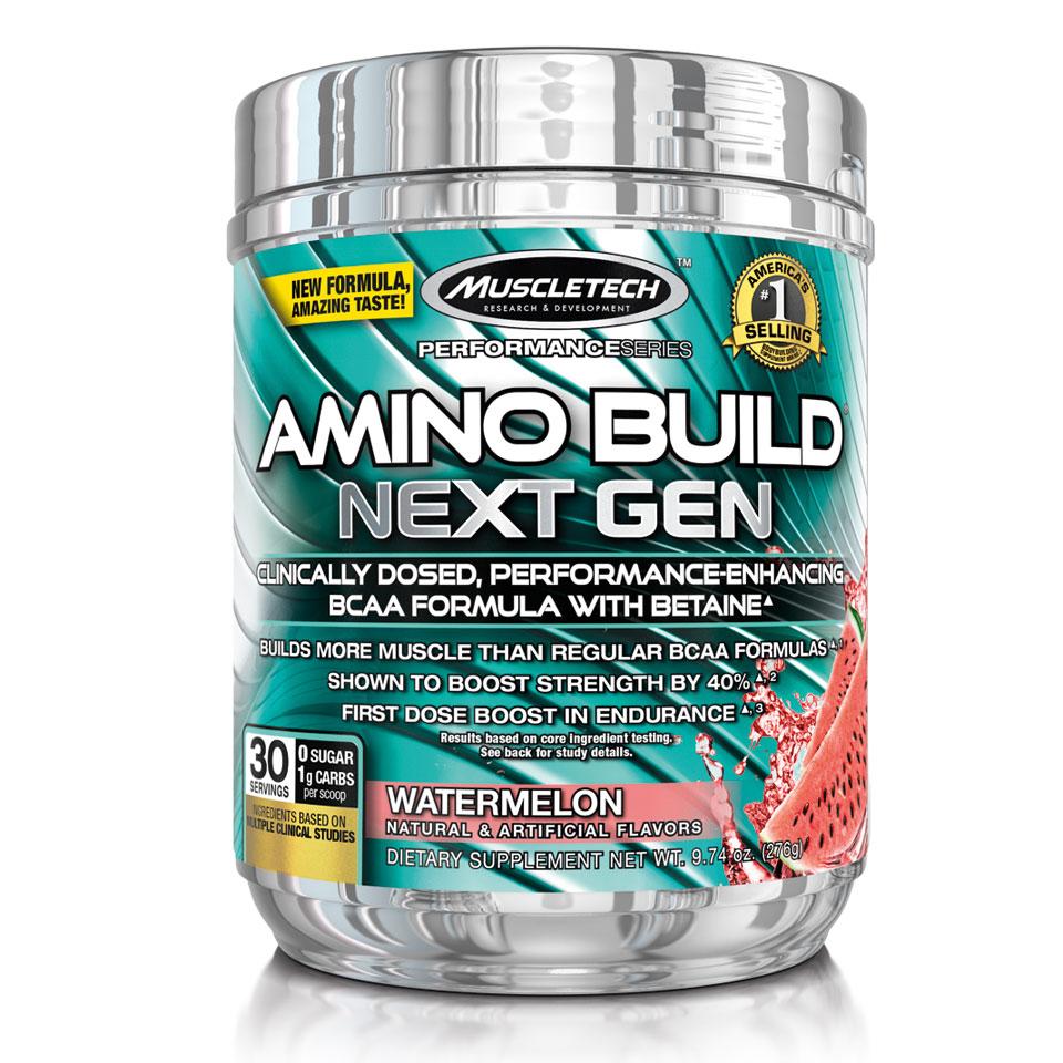 Muscletech Amino Build Next Gen 279 gram Watermelon - MuscleTech