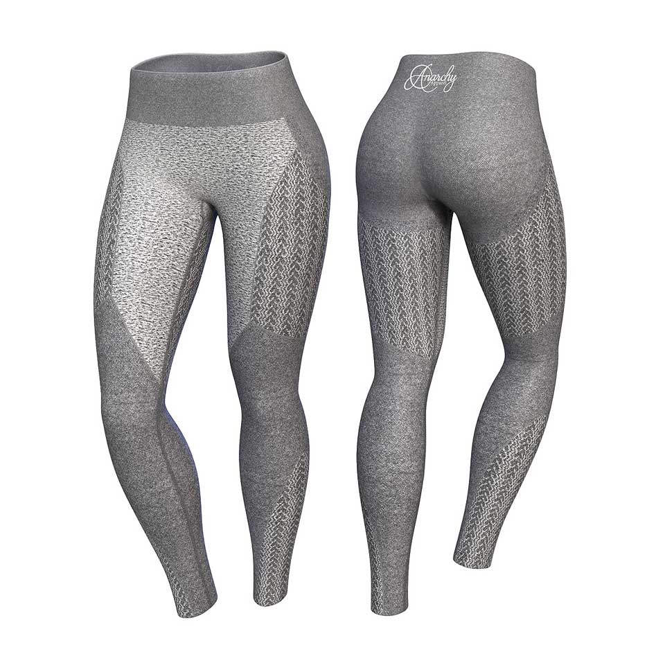 Anarchy Wabisabi Tights, Taup Grey
