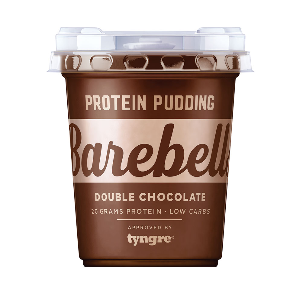 Barebells Protein Pudding 200 gram Double Chocolate - Barebells