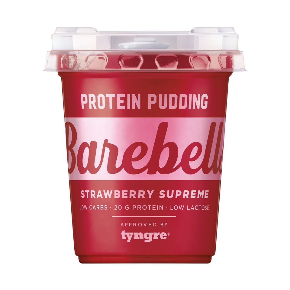 Barebells Protein Pudding 200 gram Strawberry Supreme - Barebells