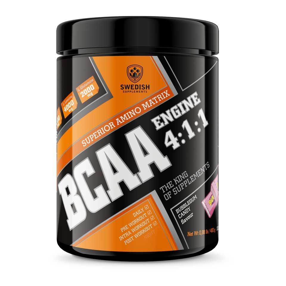 Swedish Supplements BCAA Engine 4:1:1 400 g Bubblegum Candy