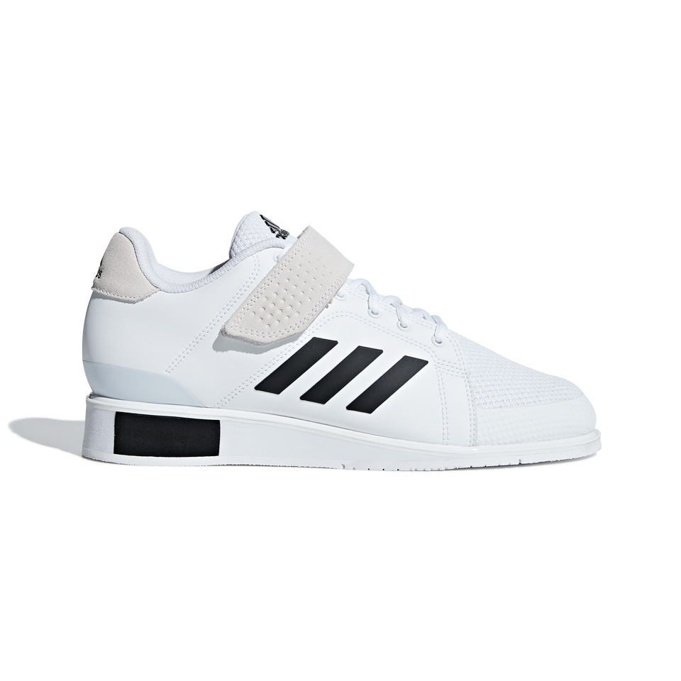 Adidas Power Perfect III, Vit/Svart