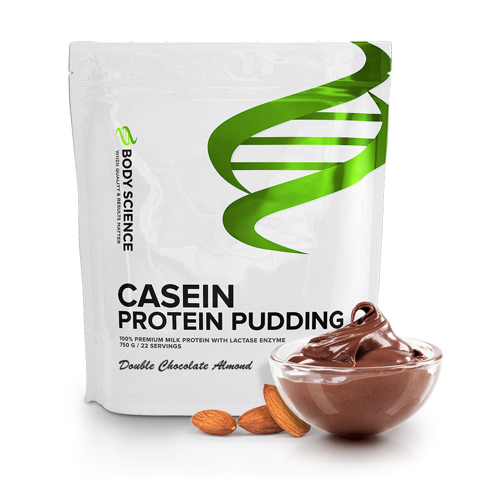 Body Science Casein - Gör proteinpudding av kasein  1e045e5064823