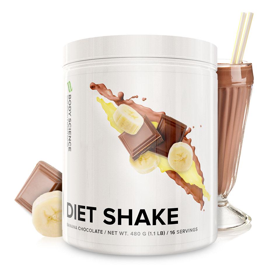 diet shake recension