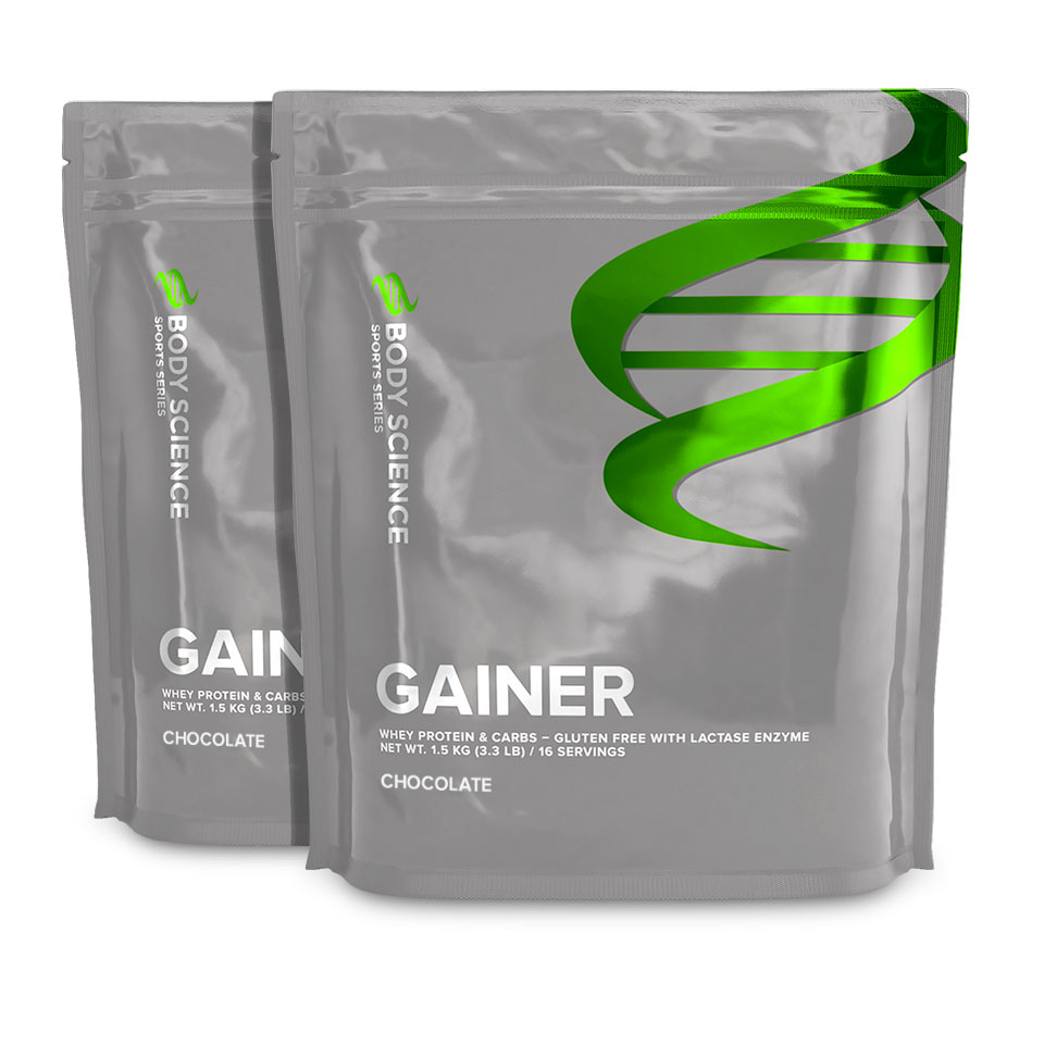 Body Science Gainer, Storpack 2 st