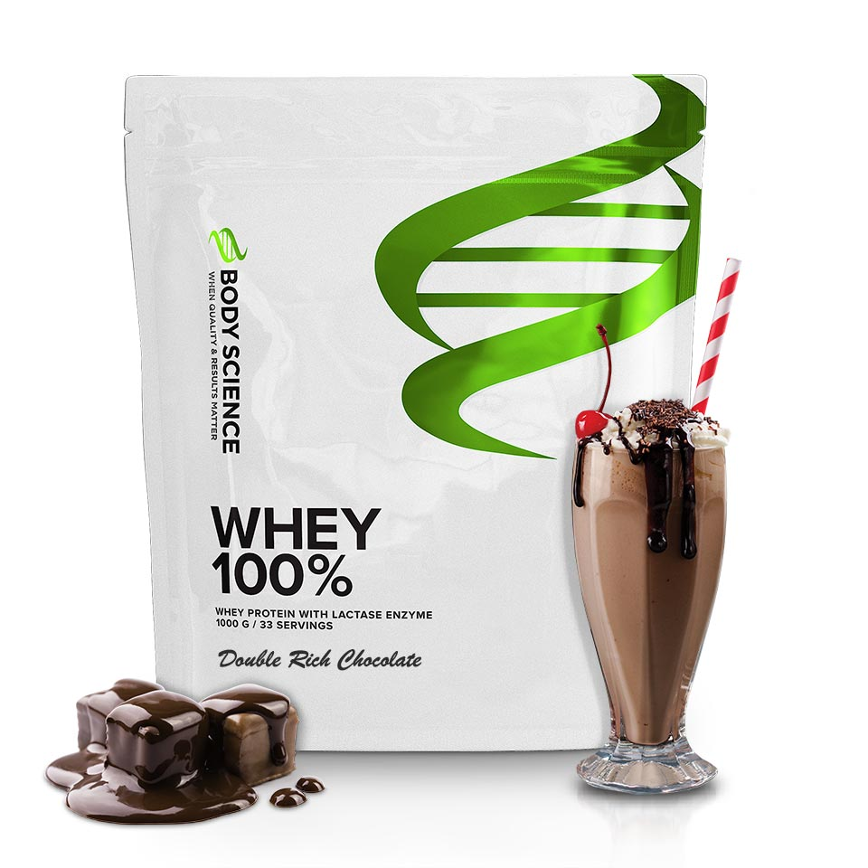 Body Science Whey 100% Double Rich Chocolate